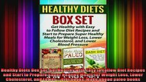 Healthy Diets Box Set Get Healthy with Easy to Follow Diet Recipes and Start to Prepare