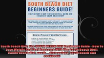 South Beach Diet The SOUTH BEACH DIET Beginners Guide  How To Lose Weight And Feel