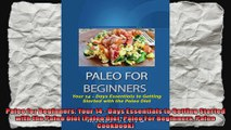 Paleo for Beginners Your 14  Days Essentials to Getting Started with the Paleo Diet