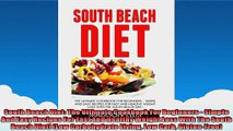 South Beach Diet The Ultimate Cookbook For Beginners  Simple And Easy Recipes For Fast