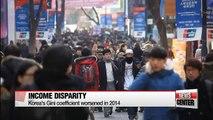 Economic inequality in Korea gets worse