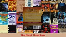 Read  The Right Thing Easy Ebook Free