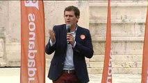"Rivera a Rajoy: ""Usted no ha creado empleo"""