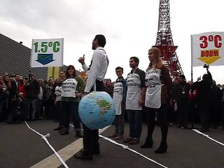 COP21 Pantomime pour le monde à 1,5°C