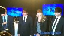 Régionales 2015: Christian Estrosi et Marion Maréchal Le Pen