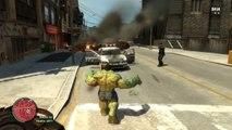 GTA 5- Hulk in GTA! - (GTA 5 Hulk Mod Funny Moments) - video