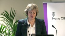 Theresa May warns police that reforms must continue