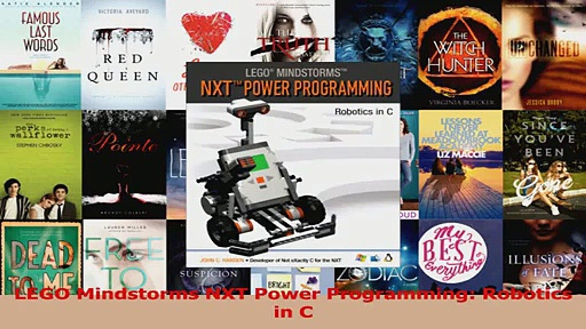 Read LEGO Mindstorms NXT Power Programming Robotics in C PDF Free