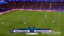 2-0 Zlatan Ibrahimovic Goal - Paris SG vs. Shakhtar 08.12.2015