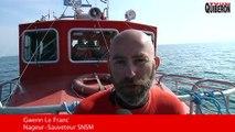 Belle-Ile-en-mer - Les Lifeguards s'entrainent avec le canot SNS 096 - TVBI Belle-Ile en-mer 24/7
