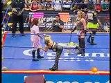 01 Chikayo Nagashima, Fabi Apache & Meiko Satomura vs. Las Gringas Locas