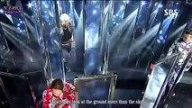 B A P Daehyun  BIGBANG Loser cover  [Eng Sub] SBS Live 빅뱅 BIGBANG Loser 대현 빅뱅 Loser 영어자막