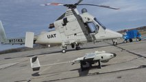 Autonomous drone helps unmanned helicopter fight fires (Tomorrow Daily 283)