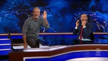 """Jon Stewart returns to """"Daily Show"""" for 9/11 first responders bill"""