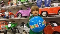 ToysRus Shopping before Christmas and Glowing in the Dark Play-Doh