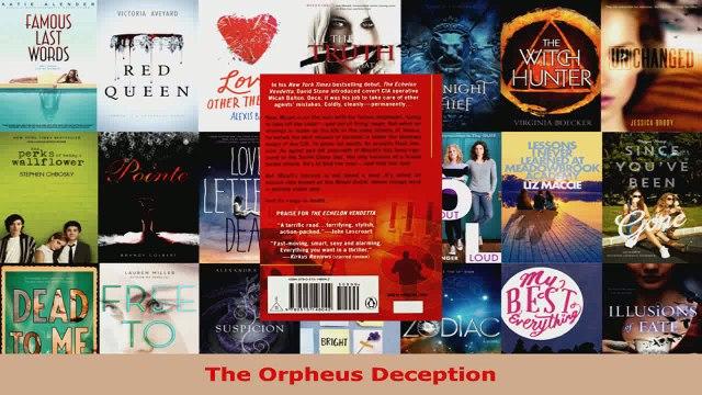 Read  The Orpheus Deception EBooks Online