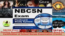 Read  NBCSN Exam Flashcard Study System NBCSN Test Practice Questions  Review for the National EBooks Online