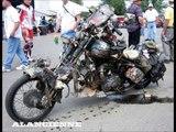 les plus belle moto bike rat . rats steampunk .. ( harley davidson ) .