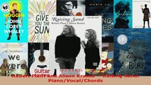 Download  Robert Plant and Alison Krauss  Raising Sand PianoVocalChords Ebook Free