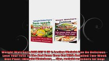 Weight Watchers BOX SET 2 IN 1 Losing Weight Can Be Delicious  Lose Your First 15 Lbs