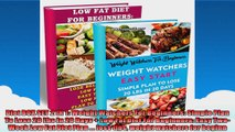 Diet BOX SET 2 IN 1 Weight Watchers For Beginners Simple Plan To Lose 20 Lbs In 20 Days