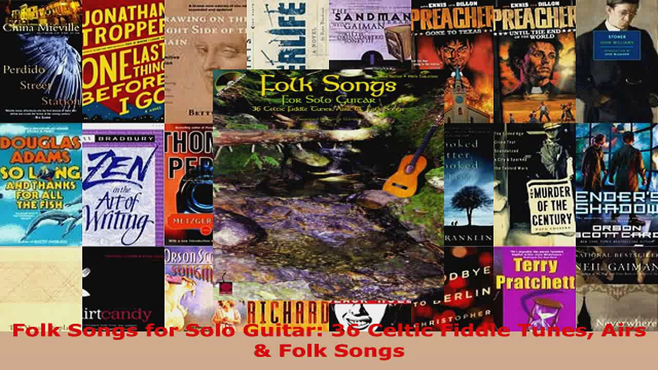 Download  Folk Songs for Solo Guitar 36 Celtic Fiddle Tunes Airs  Folk Songs Ebook Free
