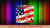 Read  Patriotic Instrumental Solos for Piano Accompaniment Levels 12 Piano Acc Ebook Free
