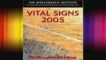 Vital Signs 2005 Vital Signs