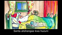 Santas Christmas: Learn Swahili with subtitles - Story for Children BookBox.com