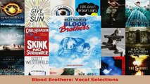 Read  Blood Brothers Vocal Selections EBooks Online