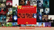 Read  Joy to the World  Vocal Edition Worship Band PlayAlong Volume 5 PDF Free