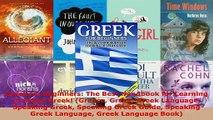 Download  Greek for Beginners The Best Handbook for Learning to Speak Greek Greece Greek Greek PDF Online