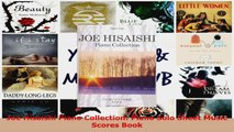Download  Joe Hisaishi Piano Collection Piano Solo Sheet Music Scores Book PDF Online