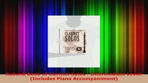 Read  Rubank Book of Clarinet Solos  Intermediate Level Includes Piano Accompaniment EBooks Online
