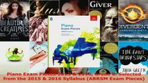 Read  Piano Exam Pieces 2015  2016 Grade 8 Selected from the 2015  2016 Syllabus ABRSM Exam EBooks Online