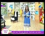 Nadia khan Show on Geo - 9th December 2015 - Part 4