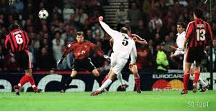 Zinedine Zidane Goal Real Madrid vs Leverkusen Champions League final 2002