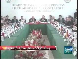 Afghan President Ashraf Ghani address