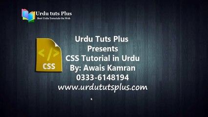 Learn Complete CSS in Urdu 2/75