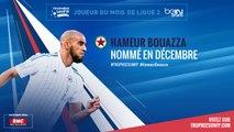 Ligue 2 / Trophées UNFP - Joueurs du mois : Hameur Bouazza