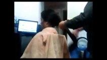 Long hair cut - Long hair buzzed off - Bob cut long hair cutting - haircut short video new