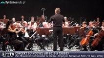 [TARBES] Extraits du Concert du Nouvel An à Tarbes (10 janvier 2016)