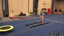Agility Gymnastics Obstacle Course!