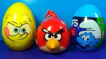 ANGRY BIRDS STAR WARS surprise eggs Unboxing 3 surprise eggs Angry Birds STAR WARS MyMillionTV