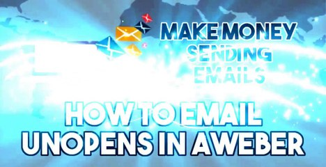 Email How To Videos How to Email Unopens in AWeber Video-12