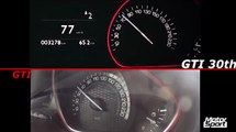 0-200 km/h : Peugeot 208 GTI VS 208 GTI 30th (Motorsport)