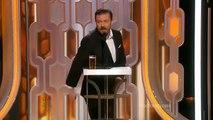 Golden Globes 2016 Openning Ricky Gervais - Golden Globe Awards 2016