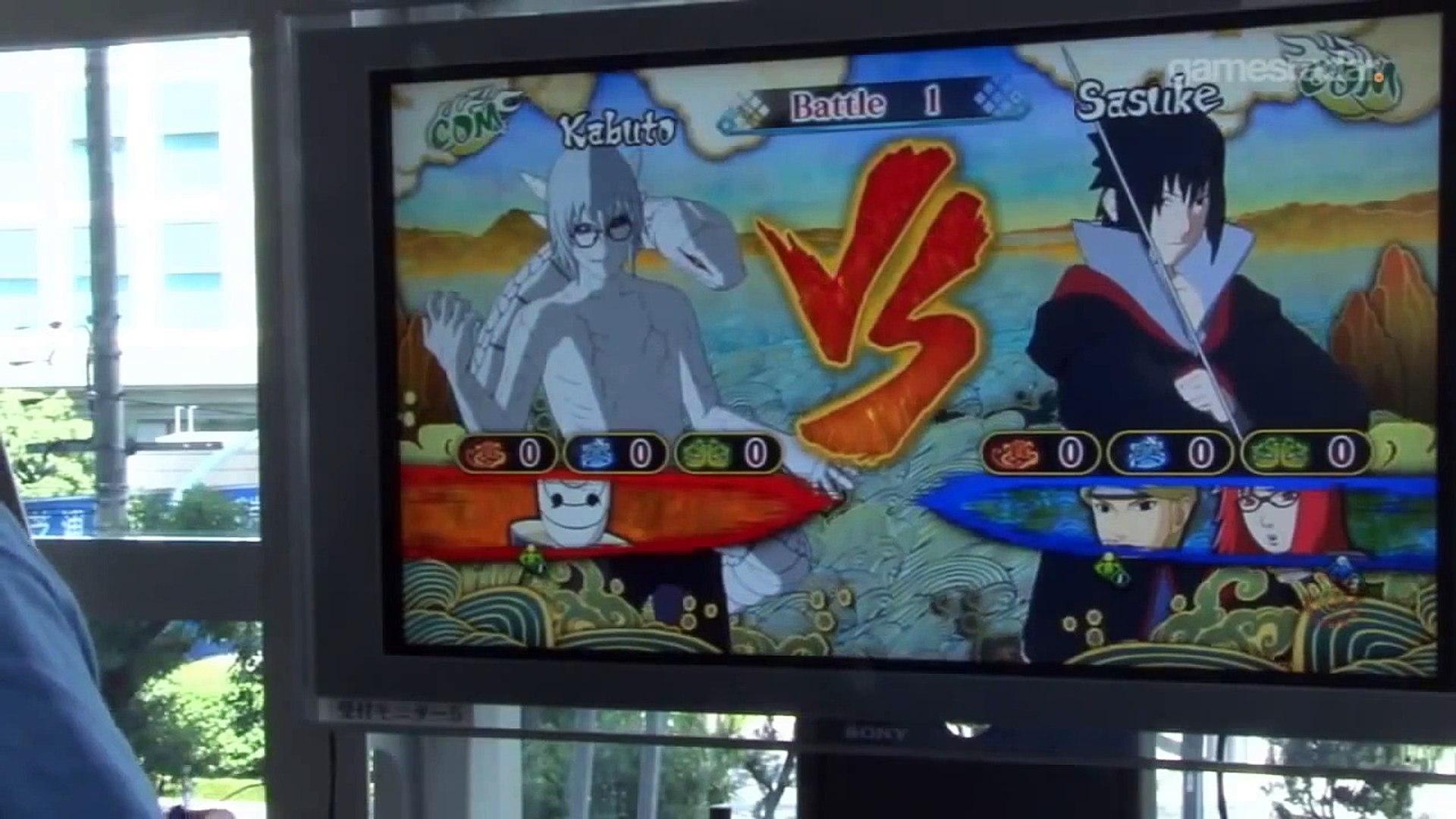 Naruto shippuden storm 3 full burst | Kabuto sennin gameplay