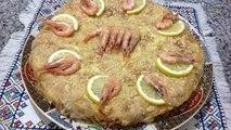 تحضير بسطيلة بالحوت اللذيذة للمناسبات بطريقة مبسطة Pastilla au Poisson Marocaine