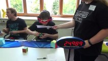 World Record: Solving a Rubiks Cube blindfolded